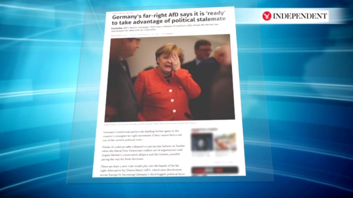 A szélsőjobb szerint Merkel ideje kitelt