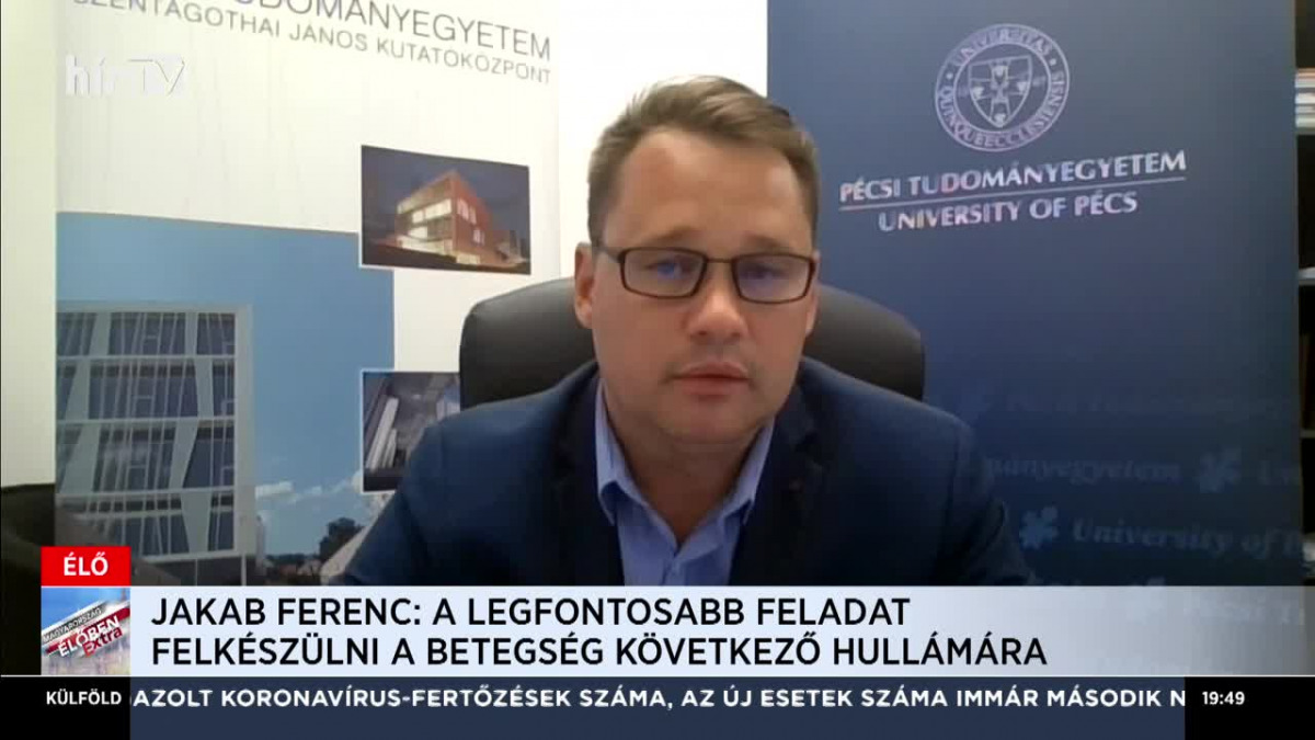 Jakab Ferenc: Példaértékű tudományos összefogás jött létre ...