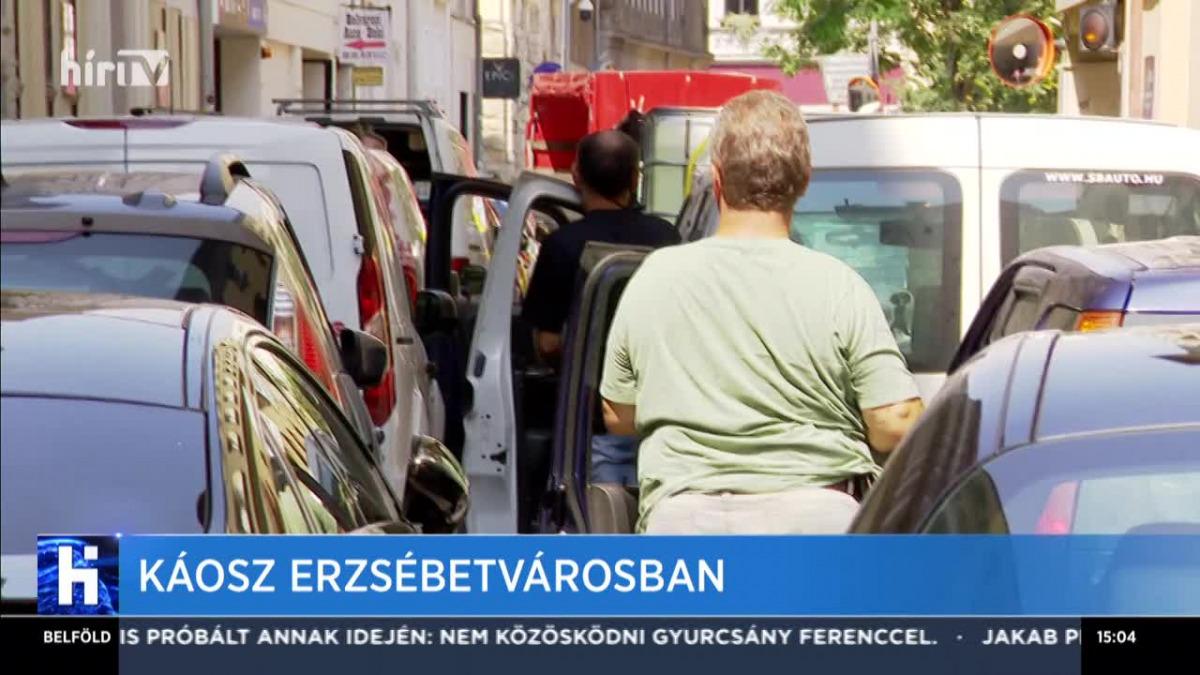 Káosz Erzsébetvárosban - Hír TV