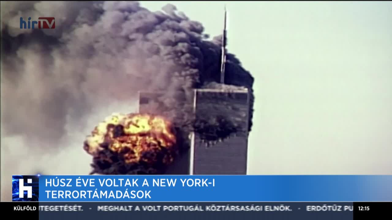 Húsz éve voltak a new york-i terrortámadások
