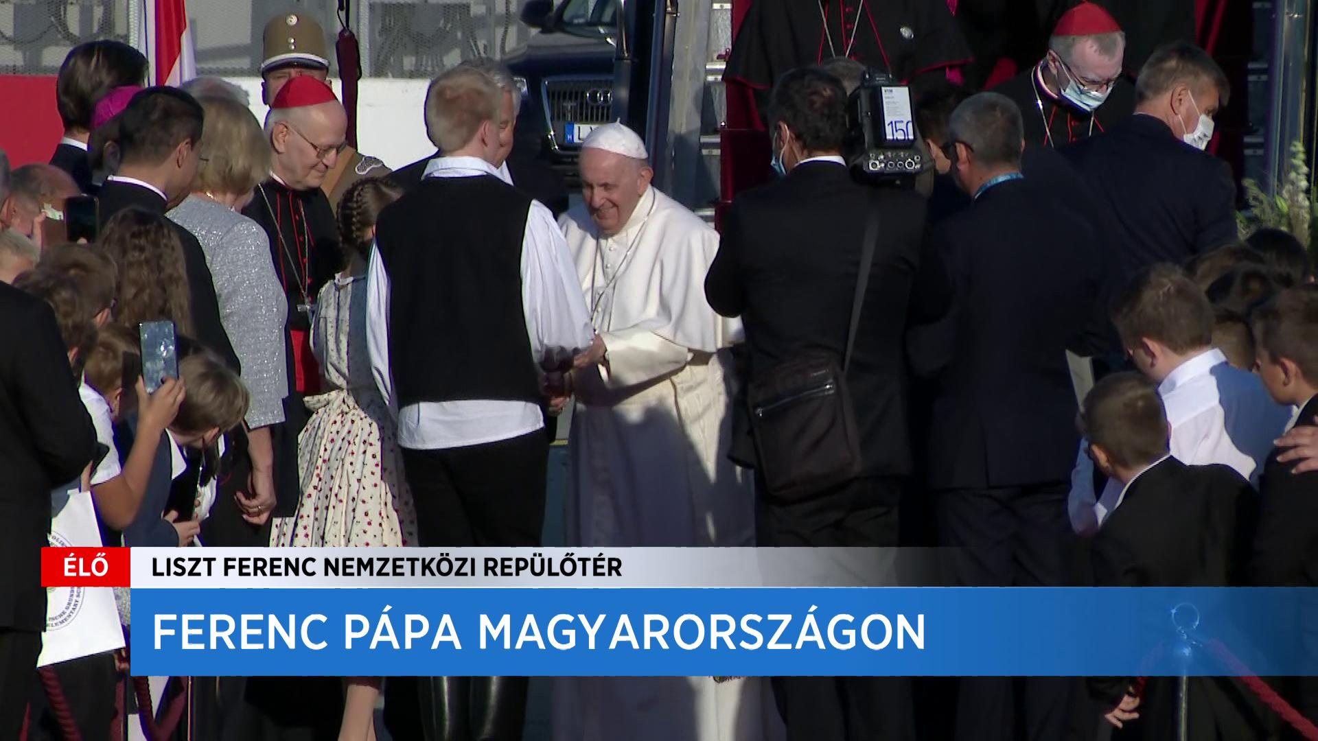 Kiss Bertalan: Óriási megtiszteltetés, hogy Ferenc pápa személyesen vesz részt a Kongresszuson