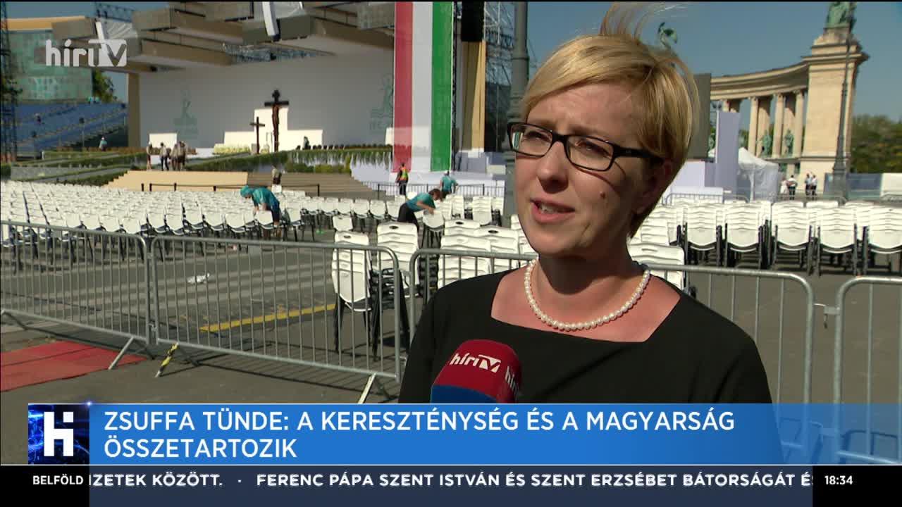 Zsuffa Tünde: A kereszténység és a magyarság összetartozik