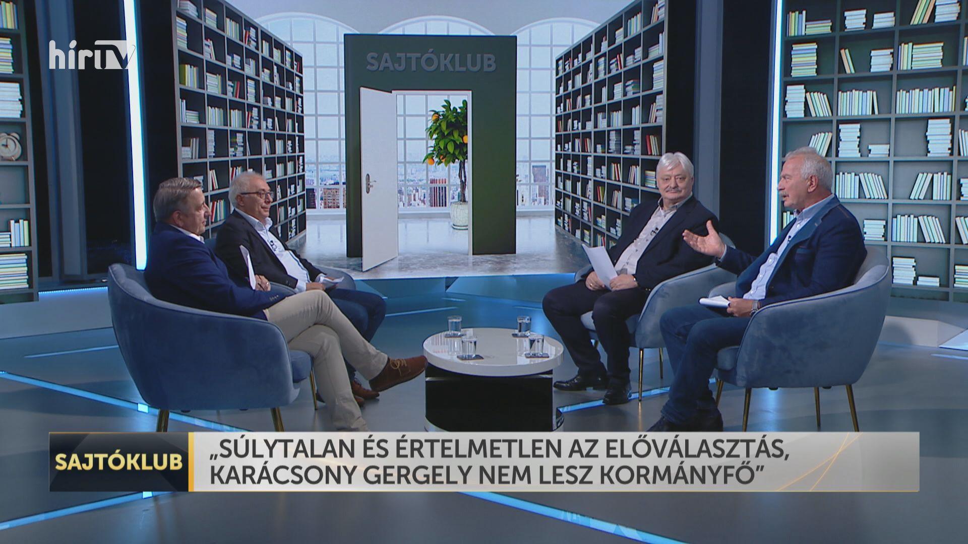 Sajtóklub: Súlytalan, értelmetlen az előválasztás, Karácsony Gergely nem lesz kormányfő
